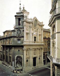 San Carlo alle Quattro Fontane, Rome by Francesco Borromini