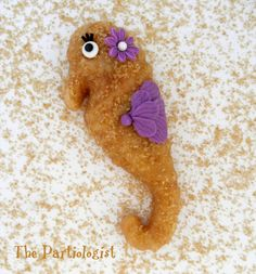 Sea creature snacks. I think you could make a healthy snack in the shape of sea creatures.