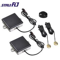 Car Blind Spot Detection Vehicle Chang BSD Microwave Radar Sensor System Track LEVEL Alarm Warning Light Buzzer Safe Driving Bli #Affiliate