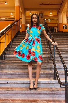 Check out this item in my Etsy shop https://www.etsy.com/uk/listing/591494341/african-clothing-ankara-dress-robe-wax