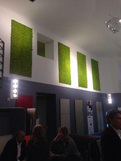 Verde Profilo è anche #fuorisalone a Milano  #MOSSwall #nature