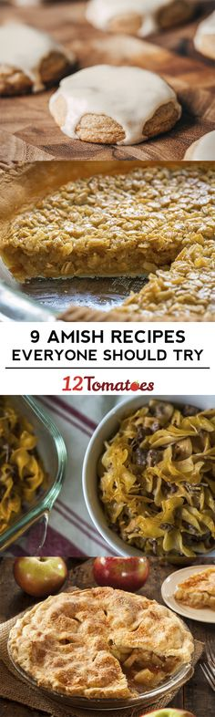 9 Amish Recipes That Everyone Should Try Best Amish Recipes, Meat Recipes, Baking Recipes, Dessert Recipes, Favorite Recipes, Desserts, Cookie Recipes, Pennsylvania Dutch Recipes, Vintage Recipes