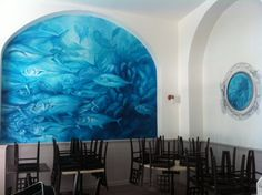 Interior design Milano Seafood Restaurant
