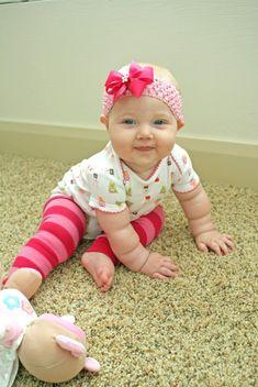 Baby Legs Tutorial by tencowchick: Repurposed from adult knee high socks!