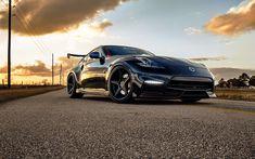 Indir duvar kağıdı 370Z Nissan 370Z, 2017, Nismo, Siyah, 370Z, Japon spor coupe, Nissan Tuning