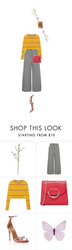 """""""Untitled #1730"""" by maja-z-94 ❤ liked on Polyvore featuring Threshold, A.W.A.K.E., Topshop Unique, Little Liffner and Aquazzura"""