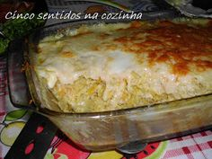 Cinco sentidos na cozinha: Bacalhau dos casamentos Food Cakes, Wine Recipes, Cooking Recipes, Portuguese Recipes, Portuguese Food, Cod Fish, Yummy Food, Tasty, Fish Dishes