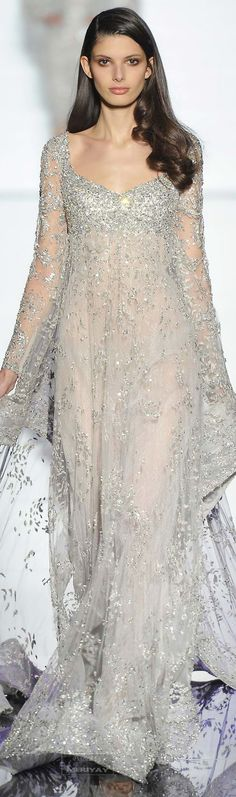 Zuhair Murad.  Spring 2015 Couture--I love this!  It's like something out of a fairy tale!