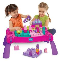 Image for MBBB-BUILD LEARN TBL PINK from Mattel