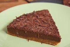 Σοκολατένια τούρτα ψυγείου με γιαούρτι, με 5 υλικά