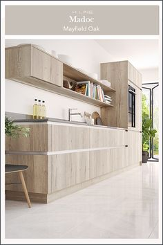 Add a rustic touch to your handleless kitchen design by opting for a wood effect finish this will add warmth to your home without compromising on style. Masterclass Kitchens distribute kitchens across to independent retailers across England, Wales and Scotland