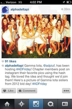 #ADFriday. What a great Instagram idea!