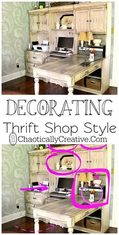 Thrift Store Decor - Chaotically Creative