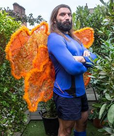 Unusual ..., Sebastien Chabal as a fairy. Very wrong, but also very funny : )