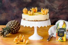 Hyydytetty ananas-jogurttikakku – Hellapoliisi Margarita, Dairy, Cheese, Cake, Food, Pineapple, Kuchen, Essen, Margaritas