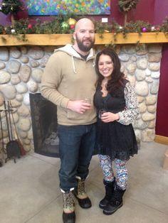 The wife and I @ Blackstar