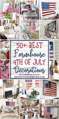 50 Farmhouse of July Decorations farmhouse diy homedecor memorialday 498351515016351226 Fourth Of July Decor, 4th Of July Celebration, 4th Of July Decorations, 4th Of July Party, July 4th, Americana Decorations, Rustic Americana Decor, 4th Of July Games, Memorial Day