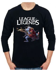 XXXL Twitch long sleeve tshirt for boys game League of Legends-