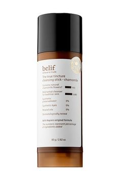Of course, this K-beauty apothecary brand has a stick in its line-up. As with all its herbal-based solutions, this cleanser mines the powers of plants, specifically chamomile, which boosts microcirculation and softens skin while washing away a day's worth of dirt. Buy it now: Tincture Chamomile Cleansing Stick, $28 http://fave.co/2bDp9A7