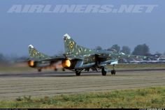 Romanian Air Force MiG-23s
