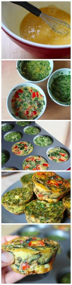 Paleo Egg Muffins #lowcarb #protein