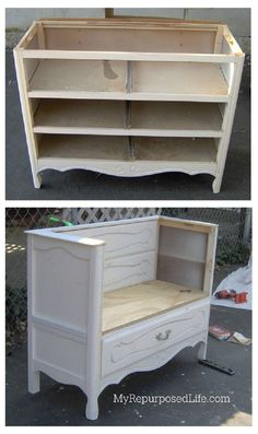 An old dresser is perfect for repurposed furniture projects and makeovers with paint stencils. An old dresser is perfect for repurposed furniture projects and makeovers with paint stencils. Kathy feuerherdtkathi Möbel An […] dresser makeover Refurbished Furniture, Repurposed Furniture, Rustic Furniture, Furniture Makeover, Vintage Furniture, Home Furniture, Dresser Repurposed, Painted Furniture, Furniture Stores