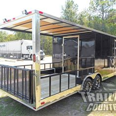 Trailer Country Hybrid TrailersTop Quality Trailers at a price that won't break your budget Utility Trailer Camper, Enclosed Trailer Camper, Cargo Trailer Camper Conversion, Toy Hauler Camper, Work Trailer, Off Road Camper Trailer, Trailer Build, Camper Trailers, Campers