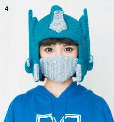 d3ede5ee580 Optimus Prime Winter Knitting Wool Hat