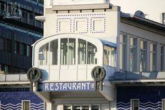 Otto Wagner – Vienna in Blue and White – Floodgate Schützenhaus – AUREA Otto Wagner, Art Nouveau, Art Deco, Vienna Austria, Lancome, Blue And White, Vienna, Art Decor
