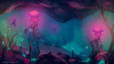 underwater concept art - Поиск в Google