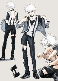 Killua, Hisoka, Anime Boys, Cute Anime Guys, Hunter Anime, Hunter X Hunter, City Hunter, Cute Anime Character, Character Art