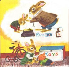 The Bunny Book - Pasty Scarry, illustrated by Richard Scarry.  Little Golden Book
