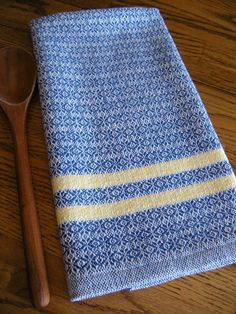 Kitchen Towel Handwoven Guest Towel Hand by ThistleRoseWeaving