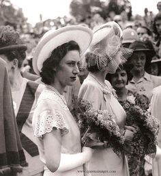 """That girl has my hat."" - Princess Margaret, Countess of Snowdon"
