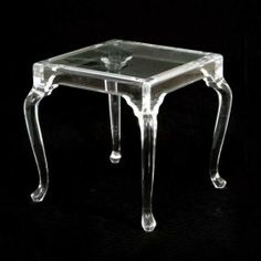 cabriole legs lucite end table acrylic legs for furniture