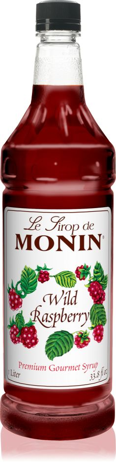 Wild Raspberry | Peach Fruit Purée | Peach Tea | Wild Berry Tea | Syrup | Monin.com