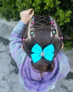 Baby Hairstyles Ideas – Baby and Toddler Clothing and Accesories Cute Toddler Hairstyles, Easy Little Girl Hairstyles, Baby Girl Hairstyles, Princess Hairstyles, Braided Hairstyles, Mixed Kids Hairstyles, Girl Hair Dos, Braids For Kids, Queen Hair