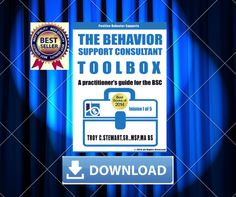 """""""THE BEHAVIOR SUPPORT CONSULTANT TOOLBOX"""" IS PARENT'S EFFECTIVE TOOL FOR CHILDREN WITH BEHAVIORAL ISSUES."""