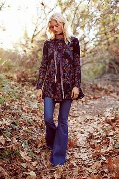 Free People Smooth Talker Floral Print Tunic at Free People Clothing Boutique
