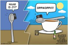 Idees vol vrees Funny Facts, Funny Jokes, Afrikaans Quotes, Laugh Out Loud, Lol, African, Daisies, South Africa, Funny Stuff