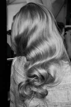 Beautiful Vintage Waves #hair