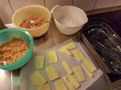 Omenapiirakka ilman taikinaa (Ripoteltu piirakka) Dairy, Pudding, Cheese, Desserts, Food, Flan, Postres, Puddings, Deserts
