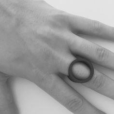 Form T Ring by Phoebe Joel | http://adornmilk.com
