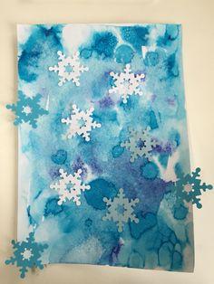 Zamrzlé okno Snowflakes, Snowman, Winter, Crafts, Art, Winter Time, Art Background, Manualidades, Snow Flakes