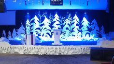 Working with Styrofoam in Stage Design | Church Stage Design Ideas