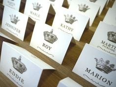 A Wedding Table Plan Fit For A King (And Queen) <br> What girl hasn't dreamt of marrying a prince one day? Make the bride and groom feel like a King and Queen with an amazing royal themed wedding table plan. Wedding Pins, Diy Wedding, Wedding Events, Dream Wedding, Wedding Ideas, Wedding Crowns, Quirky Wedding, Wedding Goals, Wedding Album