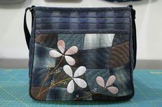 Japanese Patchwork, Japanese Bag, Patchwork Bags, Quilted Bag, Crossbody Bag, Tote Bag, Fabric Bags, Big Bags, Applique Quilts