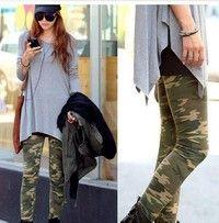 Creo que Womens Camouflage Army Print Stretch Cool Sexy Pants Skinny Leggings Trousers te gustará. Agrégalo a tu lista de deseos   http://www.wish.com/c/536ddf208ec49d3ae7fdbcc6