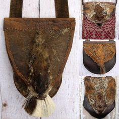 Ewing's Creek Pouches and Accoutrements: Happy Groundhog's Day Leather Bags Handmade, Leather Craft, Shooting Bags, Happy Groundhog Day, Longhunter, Mountain Man, Leather Working, Dark Side, Drums