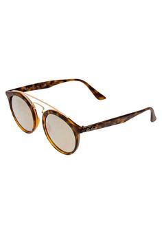 Ray-Ban. Lunettes de soleil - havana. Forme des lunettes:ovale. Étui à lunettes:Étui rigide. Optique:verres à revêtement. Longueur des branches:14 cm en taille 49. Avantage des verres:vue claire et sans distorsion. Filtre UV:oui. Large...